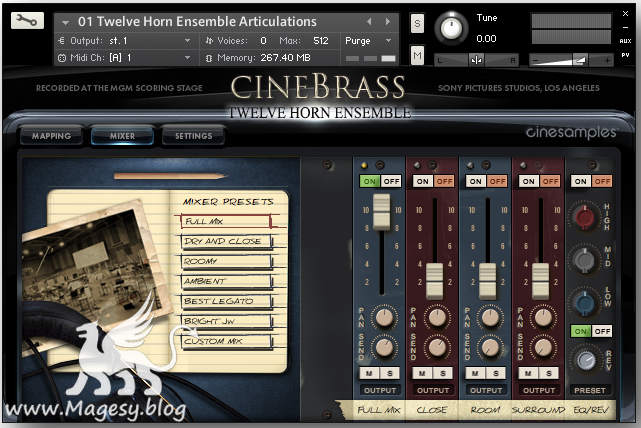 CineBrass Twelve Horn Ensemble KONTAKT_1
