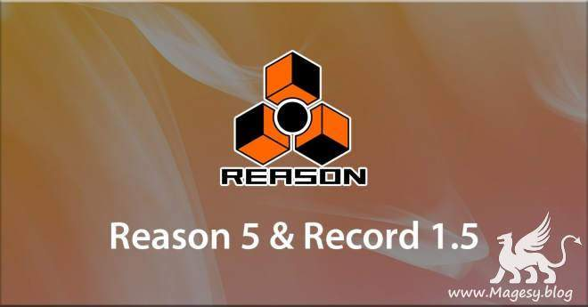 Reason 5 and Record.1.5 Course TUTORiAL