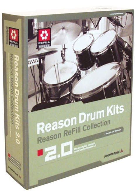 Reason Drum Kits 2.0 REFiLL-AudioP2P
