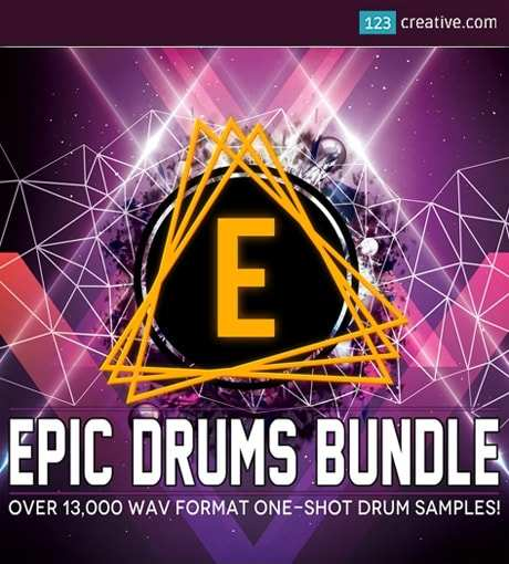 Epic Drums Bundle WAV
