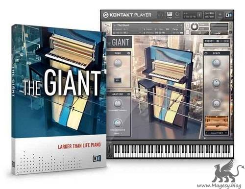 THE GIANT Piano v1.2 KONTAKT DVDR