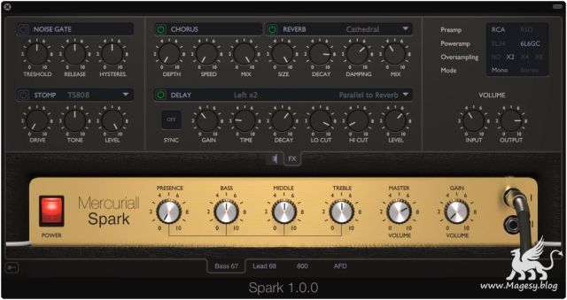 Spark v1.1.1 AAX VST x86 x64 WiN CE V.R | Images From Magesy® R Evolution™