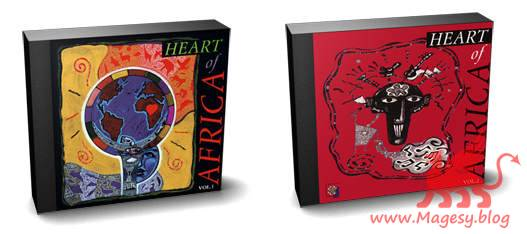 Heart of Africa Vol.1 and 2 AKAi ISO
