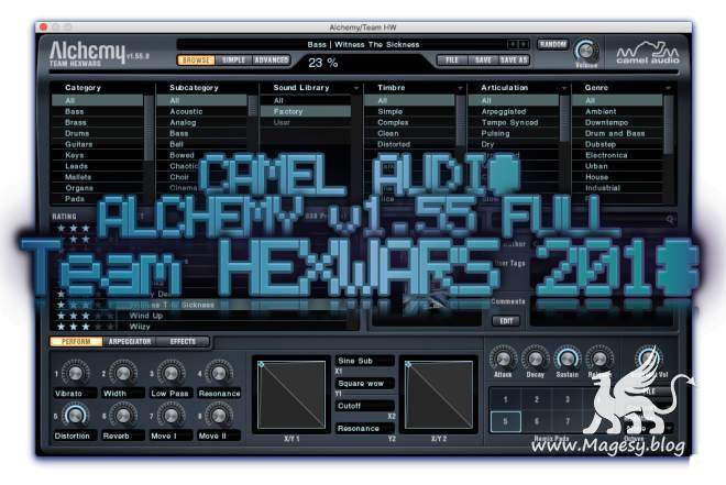 Alchemy v1.55.0.3366 FULL macOS READ NFO-HEXWARS