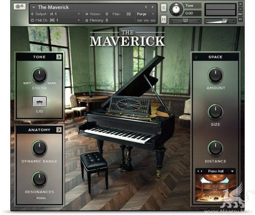 The Maverick v1.2 KONTAKT