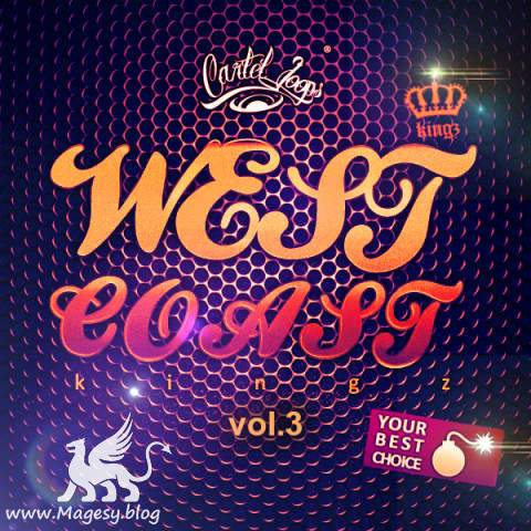 West Coast Kingz Vol.3 WAV MiDi