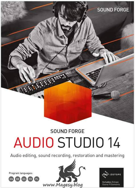 Sound Forge Audio Studio 14.0.0.86 MULTiLANG WiN
