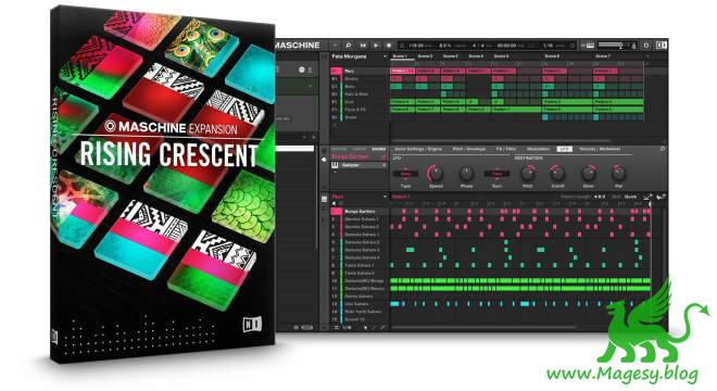 Rising Crescent v2.0.1 MASCHiNE EXPANSiON