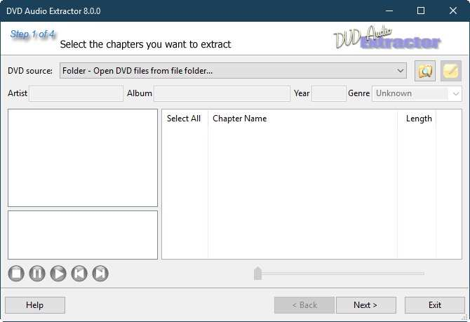 DVD Audio Extractor v8.2.0 WiN