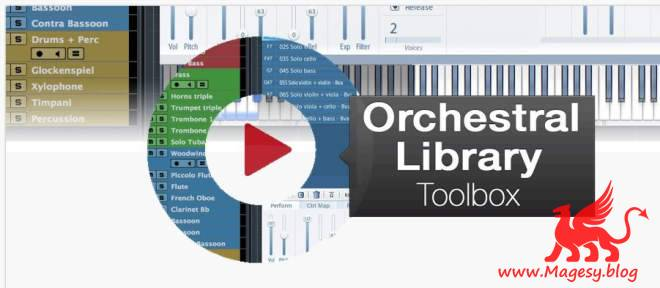 Orchestral Library Toolbox TUTORiAL-SYNTHiC4TE