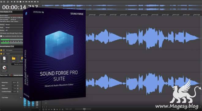 SOUND FORGE Pro Suite v15.0.0.27 x86 x64 WiN