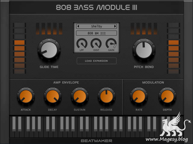 808 Bass Module III AU VSTi VST3 WiN MAC RETAiL