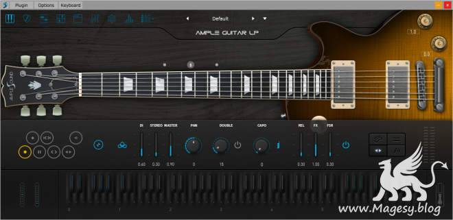 Ample Guitar LP III v3.1.0 WiN MAC