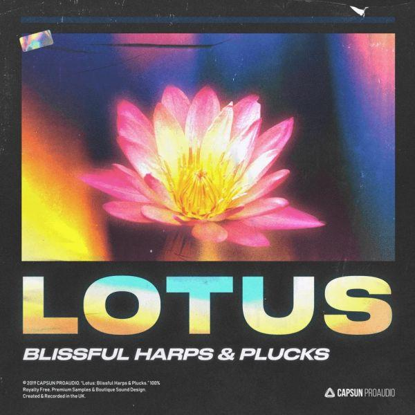 Lotus: Blissful Harps And Plucks WAV | Images From Magesy® R Evolution™