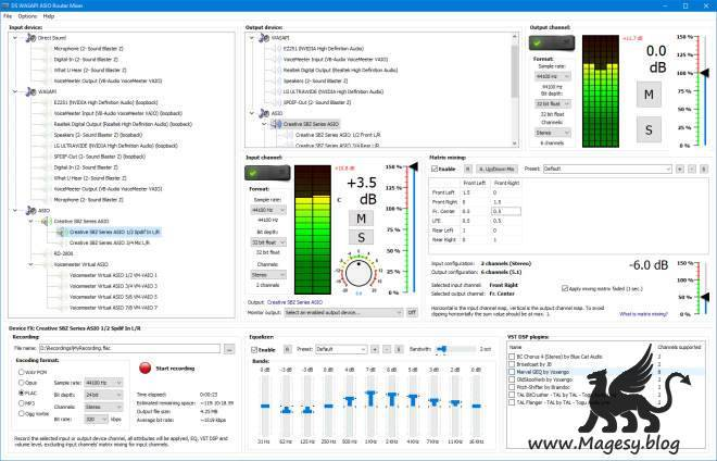 DS WASAPI ASIO Router Mixer v1.0.52.156 WiN