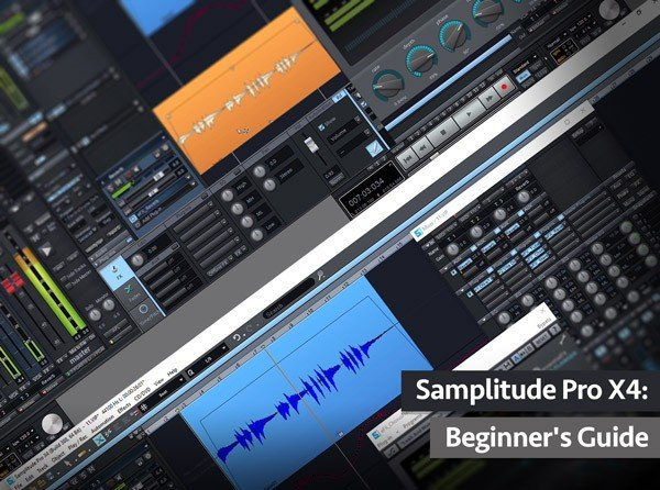 Samplitude Pro X4 Beginners Guide TUTORiAL SYNTHiC4TE | Images From Magesy® R Evolution™