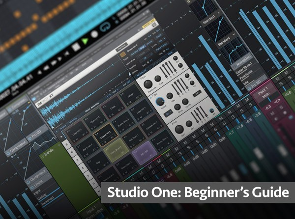 Studio One Beginners Guide TUTORiAL SYNTHiC4TE | Images From Magesy® R Evolution™