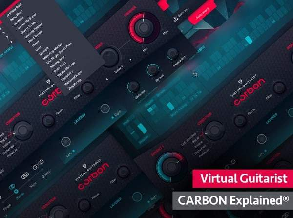 Virtual Guitarist CARBON Explained TUTORiAL SYNTHiC4TE | Images From Magesy® R Evolution™