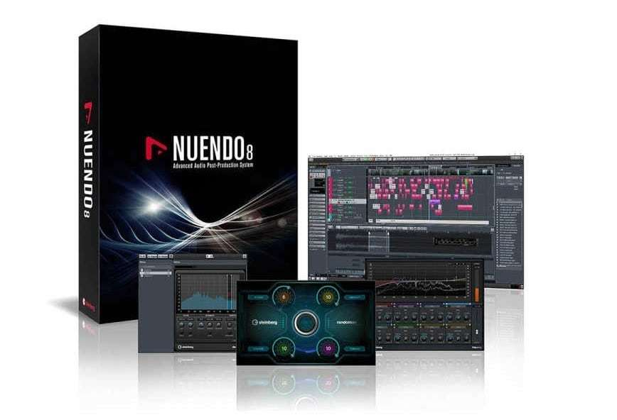 Nuendo v8 WiN x64 | Images From Magesy® R Evolution™