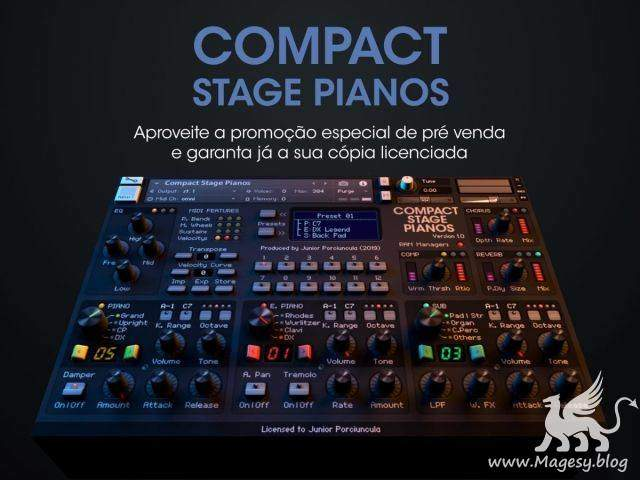 Compact Stage Pianos KONTAKT | Images From Magesy® R Evolution™