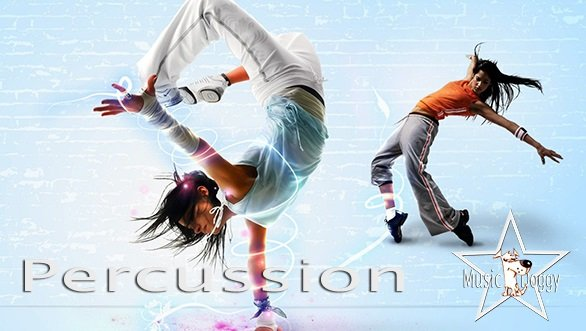 Upbeat Action Sports Percussion WAV MP3