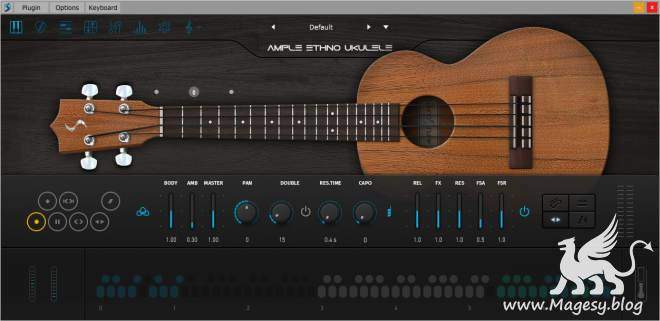 Ample Ethno Ukulele III v3.3.0 WiN MAC