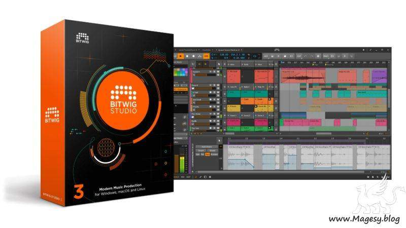 Bitwig Studio v3.1.2 WiN LiNUX x64 | Images From Magesy® R Evolution™