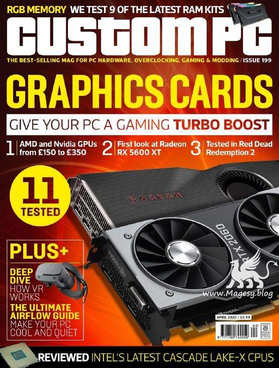 Custom PC Issue 199 April 2020 | Images From Magesy® R Evolution™