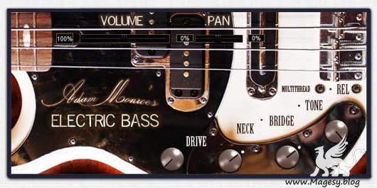 Electric Bass v1.3 AAX AU VSTi WiN MAC DECiBEL | Images From Magesy® R Evolution™