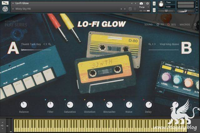 Lo Fi Glow KONTAKT | Images From Magesy® R Evolution™