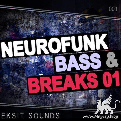 Neurofunk Bass and Breaks Vol.1 WAV | Images From Magesy® R Evolution™