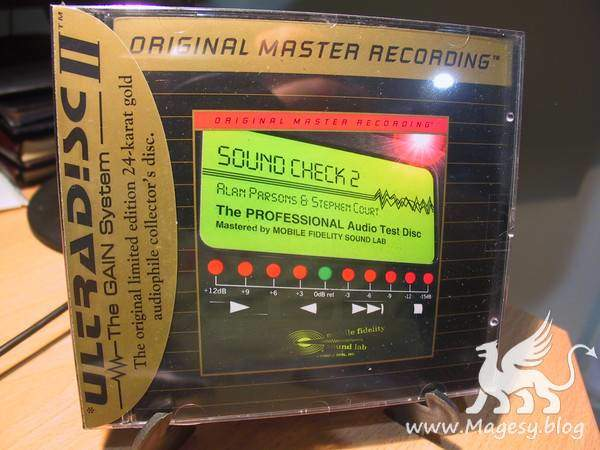 Sound Check Vol.2 The Ultimate Audio Test CD | Images From Magesy® R Evolution™