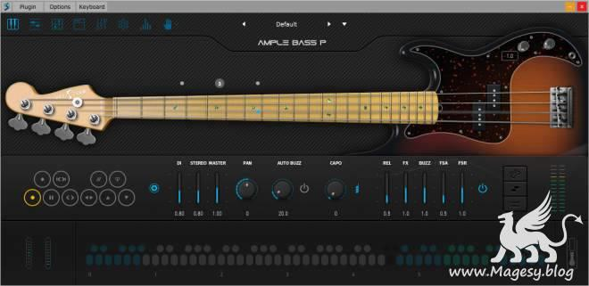 Ample Bass P III v3.2.0 WiN MAC