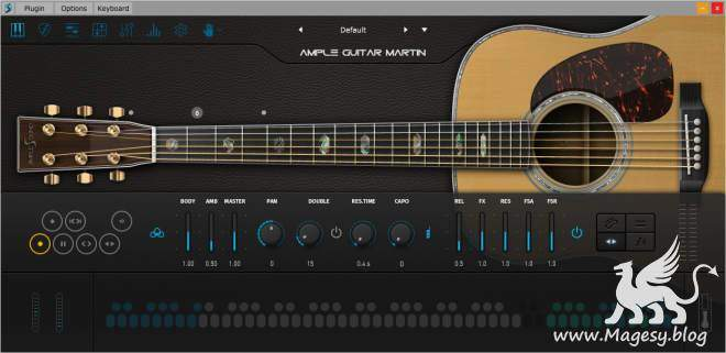 Ample Guitar M v3.3.0 WiN MAC