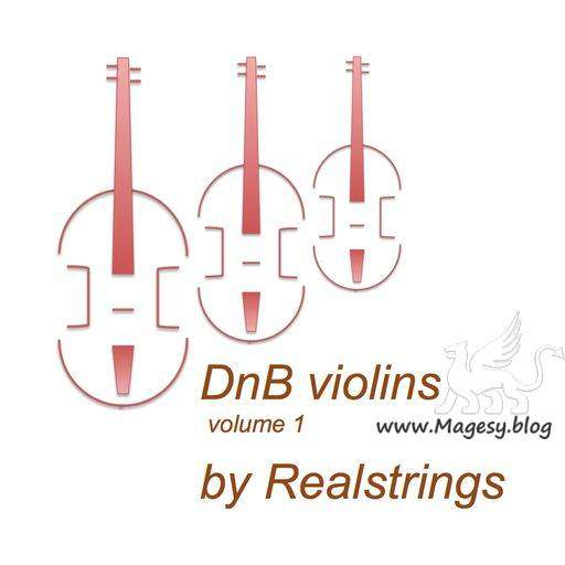 DnB Violins Vol.1 WAV | Images From Magesy® R Evolution™