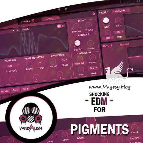 EDM For PiGMENTS | Images From Magesy® R Evolution™