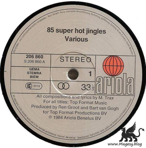 85 Super Hot Jingles WAV