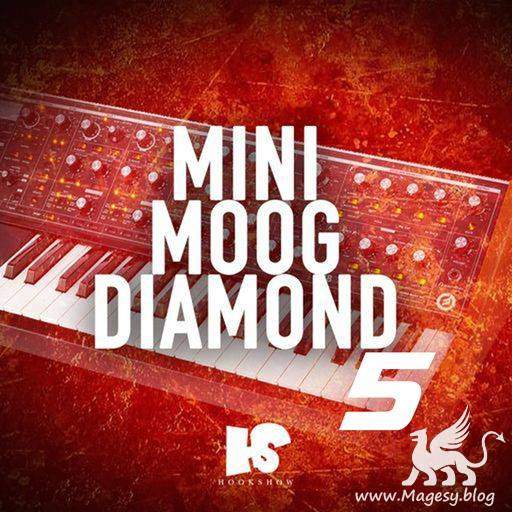 Mini Moog Diamond 5 WAV