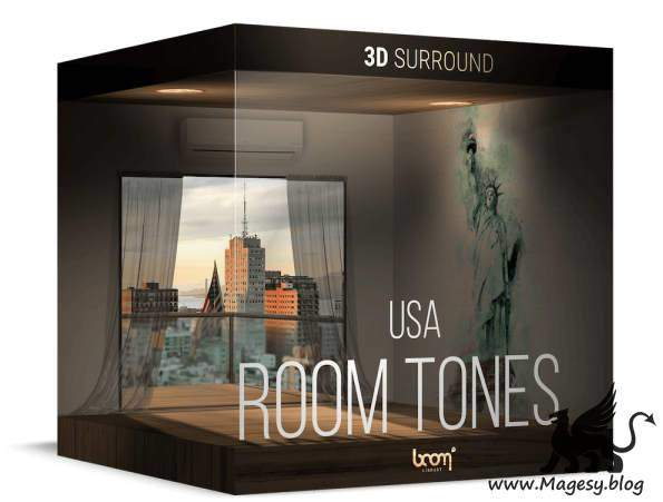 Room Tones USA 3D Surround Edition WAV