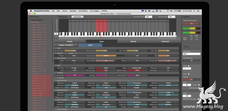 SampleTank Editor v4.0.0 WiN MAC-R2R