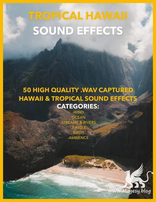 Tropical Hawaii Sound Effects Pack Vol.1 WAV
