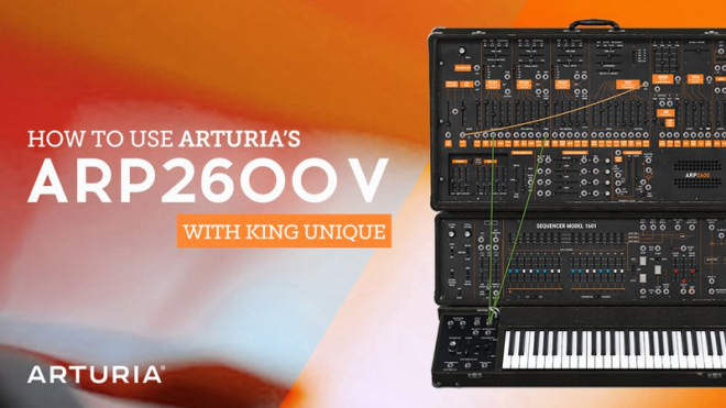 ARP2600 V TUTORiAL-SYNTHiC4TE