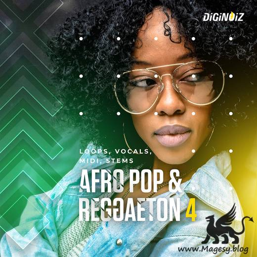 Afro Pop and Reggaeton 4 WAV MiDi-DECiBEL