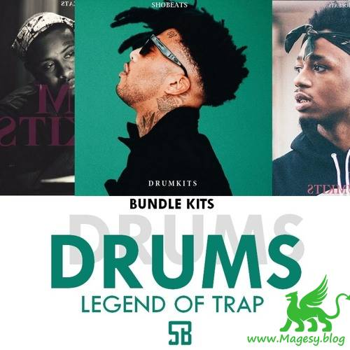 Bundle Legend Of Trap Drumkits WAV