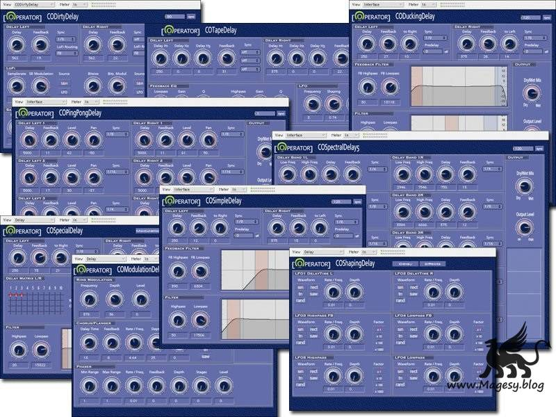 Code Operator Delay Pack v1.1 VST x86 WiN-H2O