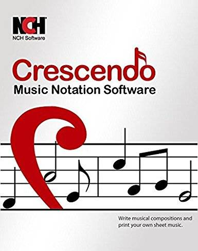Crescendo Masters Music Notation Software v6.11 WiN