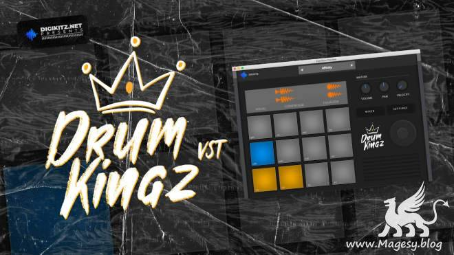 Drum Kingz v1.0 AU VST3 VSTi x86 x64 RETAiL WiN MAC