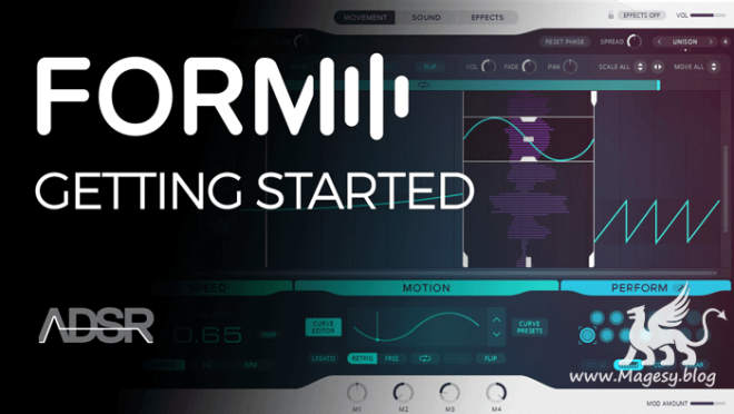 Getting Started With NI FORM TUTORiAL-SYNTHiC4TE
