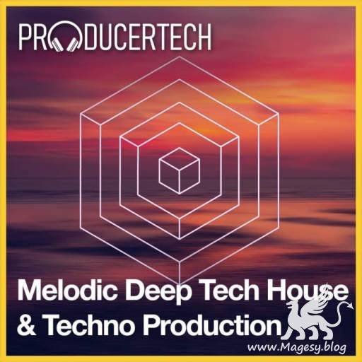 Melodic Deep Tech House and Techno Mixdown (Part 3) TUTORiAL