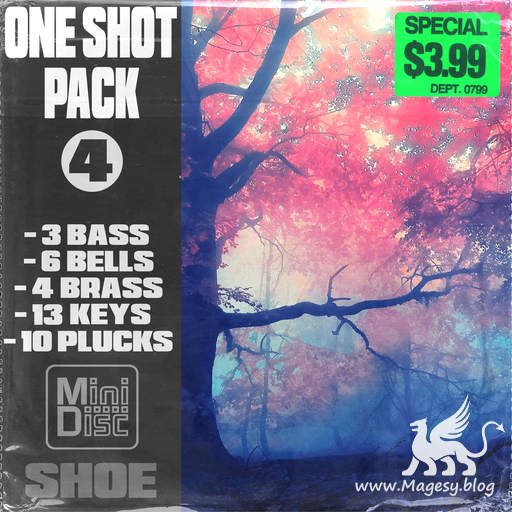 One Shot Pack Vol.4 WAV